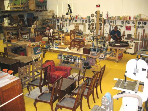 The Photo Gallery (link Above) Shows The Type Of Furniture This Shop Works  On And Many Examples Of Our Work Which Include: